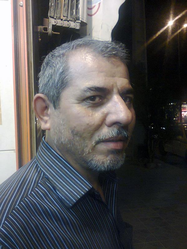 رزمندهء جانباز اسماعیل حاجی زاده