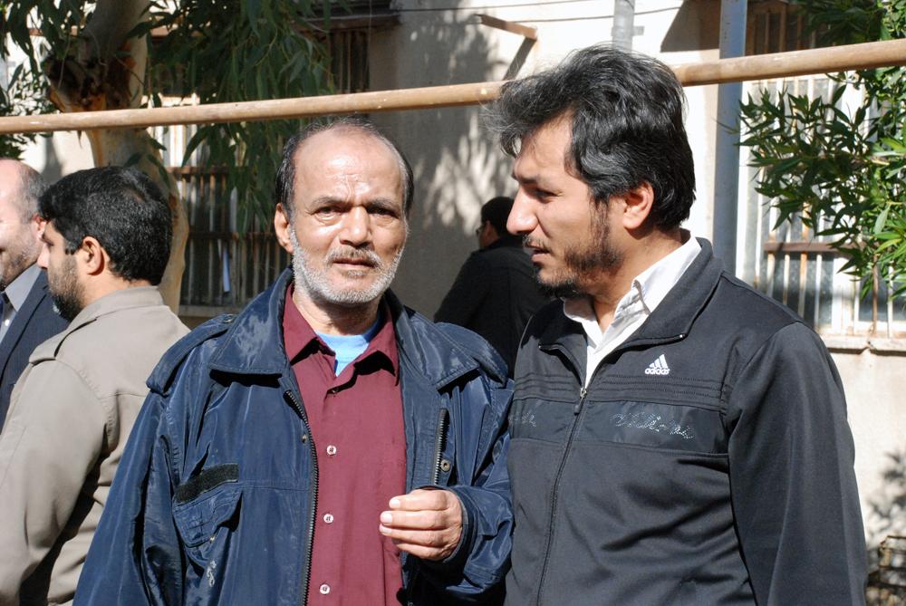 من و پدرم: «جانبازشهید حاج منصور عطشانی» - 1393/10/04 مراسم سالروز ارتحال آیت الله جمی(ره)