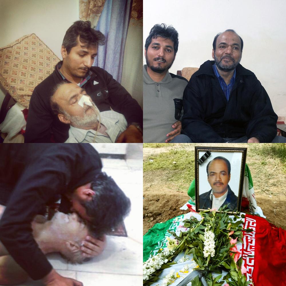 من و بابام: «جانبازشهید حاج منصور عطشانی»