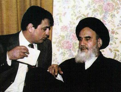 امام خمینی(ره) و دکتر سیّدصادق طباطبایی