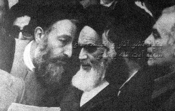 شهید عراقی، حاج احمدآقا، امام خمینی، شهید بهشتی.
